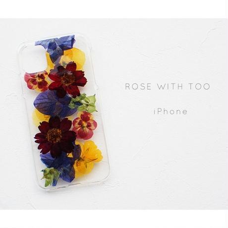 iPhone / 押し花ケース20191023_7