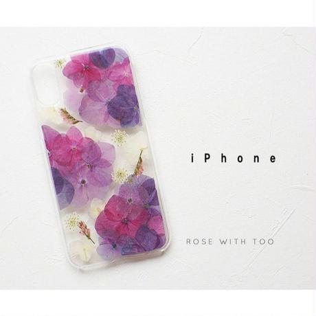 iPhone / 押し花ケース20190703_6