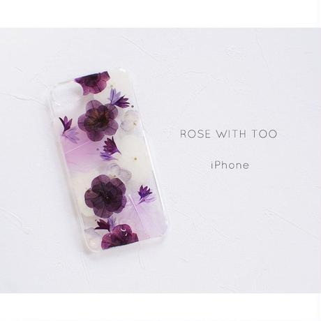 iPhone / 押し花ケース20191016_1
