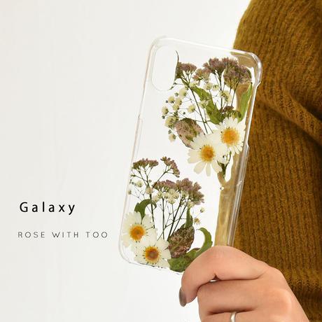 Galaxy /   押し花スマホケース  200909_2