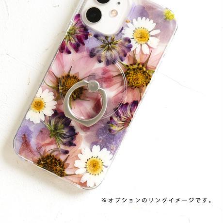 【再販】iPhone / 押し花ケース 201209_1