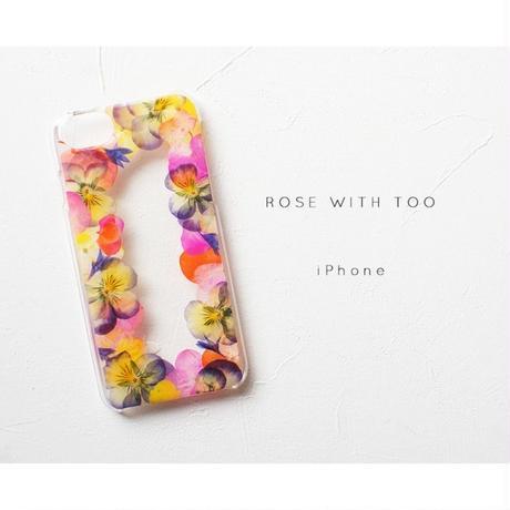iPhone / 押し花ケース20190911_7