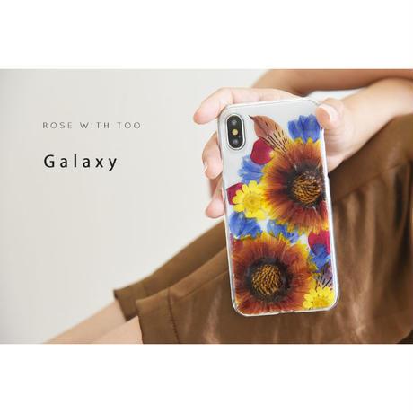 Galaxy /   押し花スマホケース  200708_2