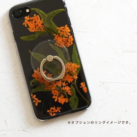 Galaxy /   押し花スマホケース  201021_2