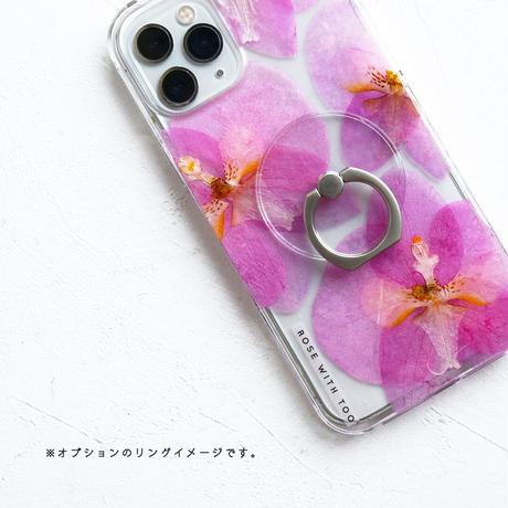 Galaxy /   押し花スマホケース  210609_2