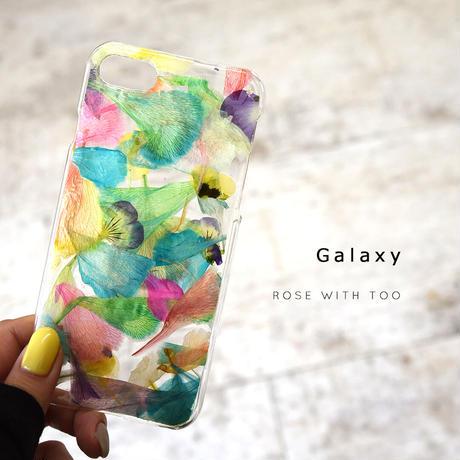 Galaxy /   押し花スマホケース  201111_6