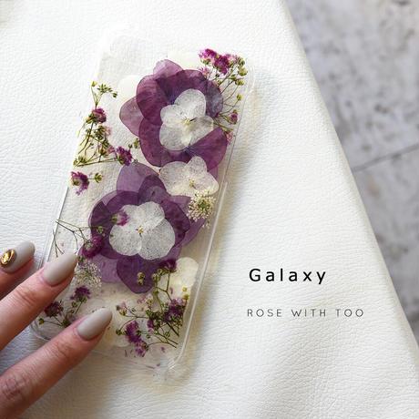 Galaxy /   押し花スマホケース  201111_2