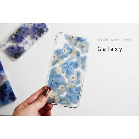 Galaxy /   押し花スマホケース  200708_6