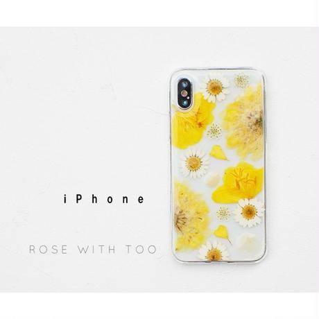iPhone / 押し花ケース20190710_3