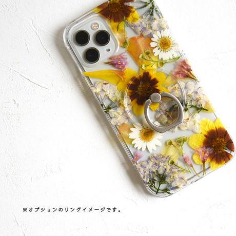 Galaxy /   押し花スマホケース  210512_2