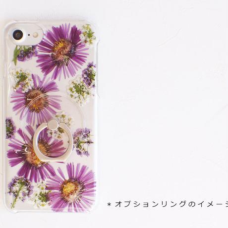iPhone / 押し花ケース20191113_2