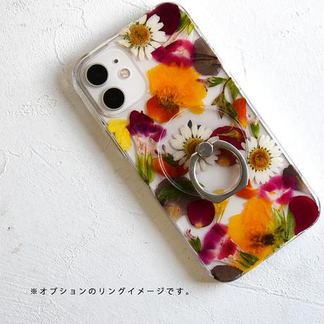 Galaxy /   押し花スマホケース  210224_4