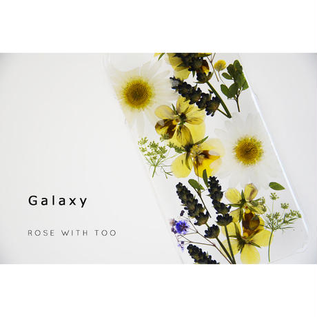 Galaxy /   押し花スマホケース  200715_5