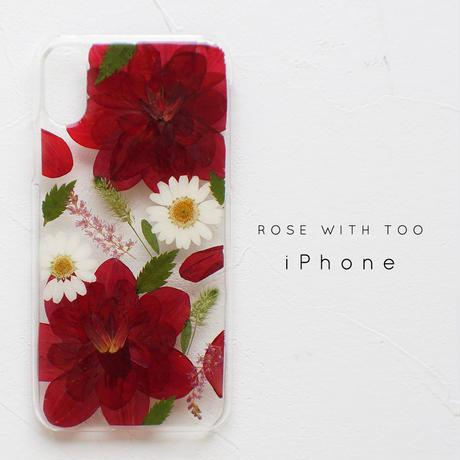 iPhone / 押し花ケース 1205_3