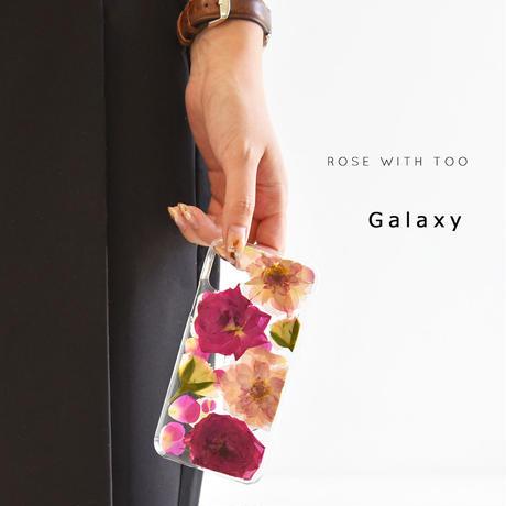 Galaxy /   押し花スマホケース  200819_4