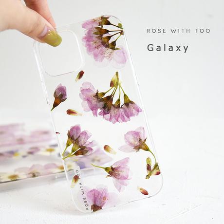 Galaxy /   押し花スマホケース  210421_6
