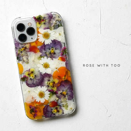iPhone / 押し花ケース 2106_3