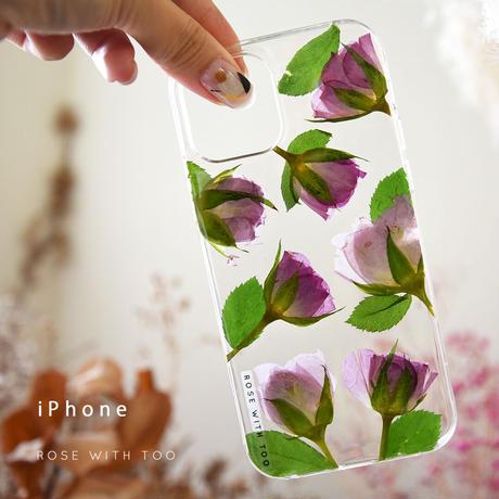 iPhone / 押し花ケース 210915_1