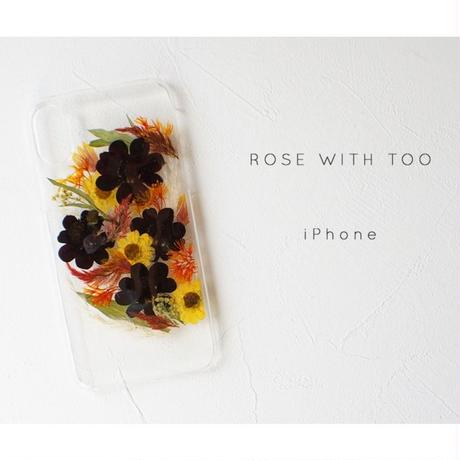 iPhone / 押し花ケース20190918_1