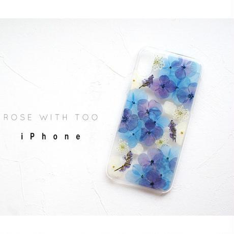 iPhone /  押し花ケース20190717_3