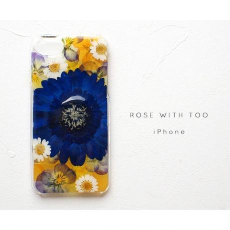 iPhone / 押し花ケース20190814_7