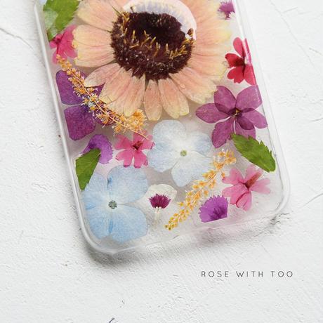 【リング不可】iPhone / 押し花ケース 200708_7