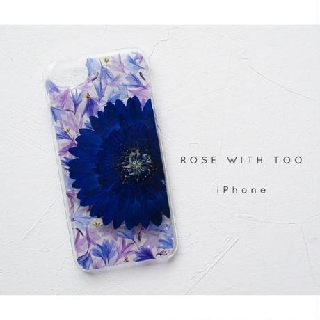 【リング不可】押し花iPhoneケース 0516_1
