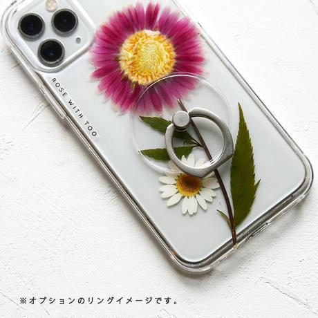 Galaxy /   押し花スマホケース  211013_4