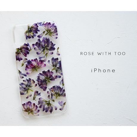 iPhone / 押し花ケース 20200506_1