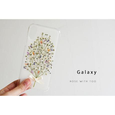 Galaxy / 押し花ケース 190206_3
