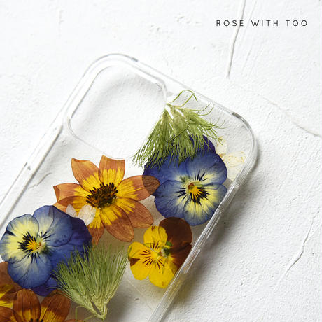 iPhone / 押し花ケース 2106_1