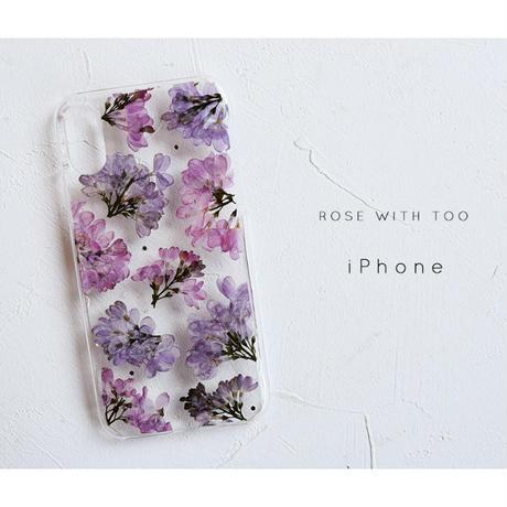 iPhone / 押し花ケース 190508_2