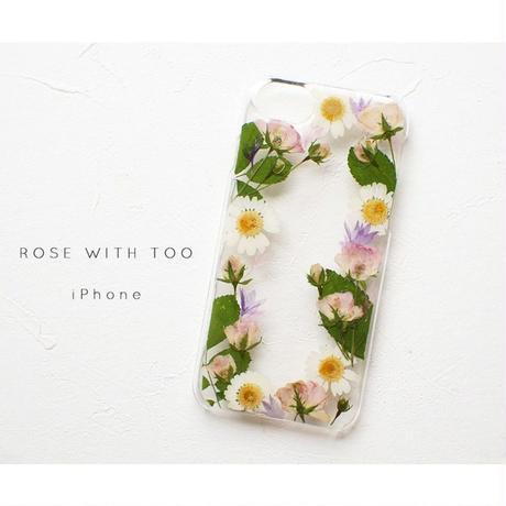 iPhone / 押し花ケース20190814_5
