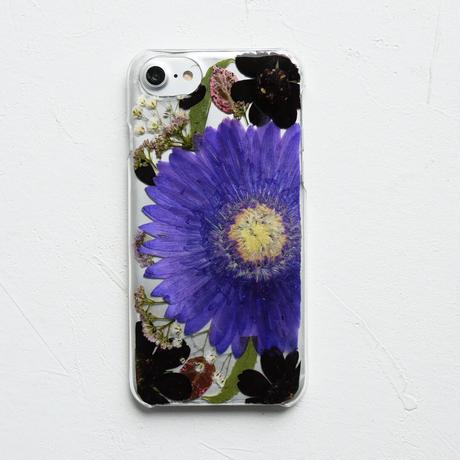 【リング不可】Galaxy /   押し花スマホケース  200909_5