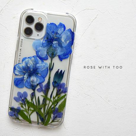 【リング不可】iPhone12・12proのみ / 押し花ケース 210616_1