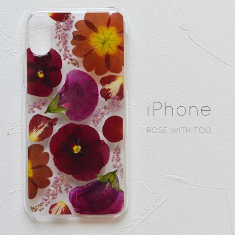 iPhone / 押し花ケース 190424_2