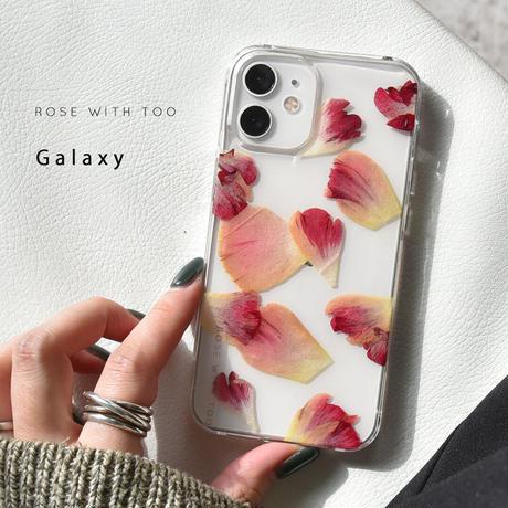 Galaxy /   押し花スマホケース  210120_12