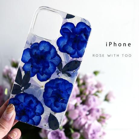 iPhone / 押し花ケース 210825_3