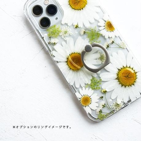 Galaxy /   押し花スマホケース  210609_4