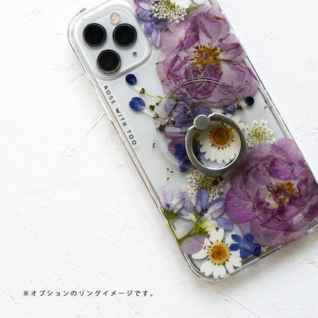 Galaxy /   押し花スマホケース  210915_6