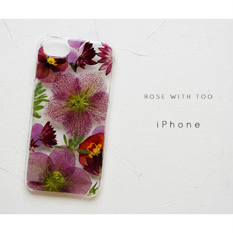 iPhone / 押し花ケース 20200422_5