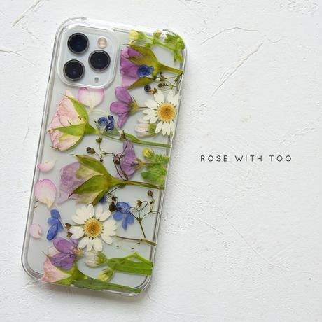 iPhone / 押し花スマホケース 210922_1