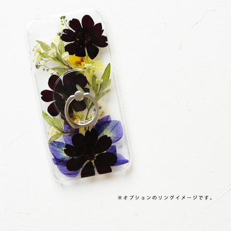 iPhone / 押し花ケース 200902_2