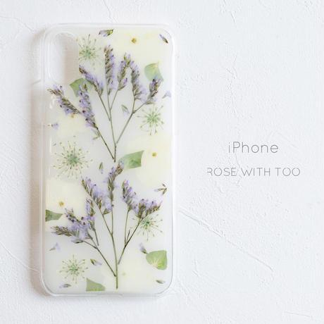 iPhone /  押し花 スマホケース0327_3