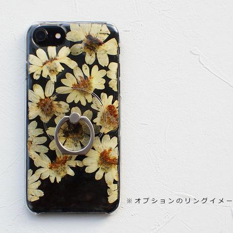 iPhone / 押し花ケース20191106_1