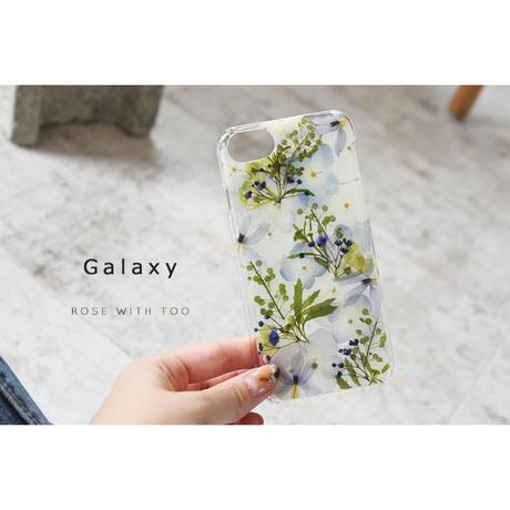 Galaxy /   押し花スマホケース  200729_4