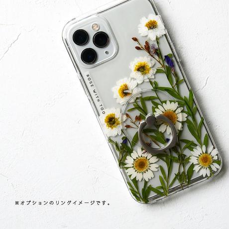 Galaxy /   押し花スマホケース  2106_6