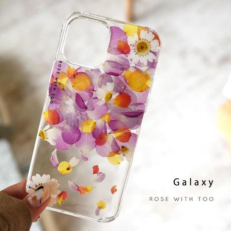 Galaxy /   押し花スマホケース  210915_4