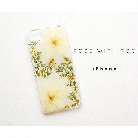 iPhone / 押し花ケース 20190618_4