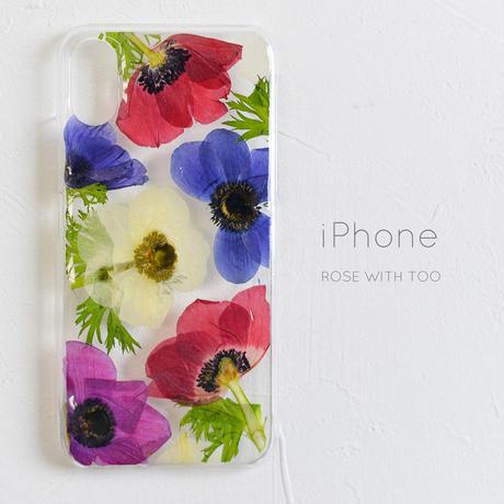 iPhone /  押し花スマホケース 2019043_1